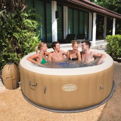 Spa gonflable rond Palm Springs AirJet 4 à 6 places assises - Lay-Z-Spa BESTWAY