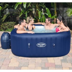 Spa gonflable carré Hawaii Airjet™ 4-6 places - Lay-Z-Spa BESTWAY