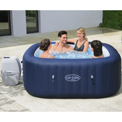 Spa gonflable carré Hawaii Airjet 4-6 places - Lay-Z-Spa BESTWAY